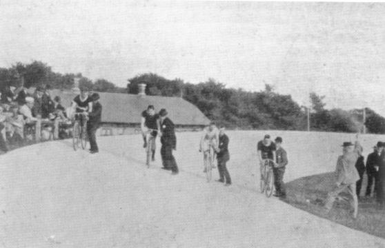 gammel cykelbane