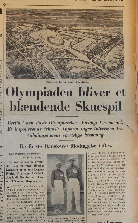 Udklip 1-8-1936