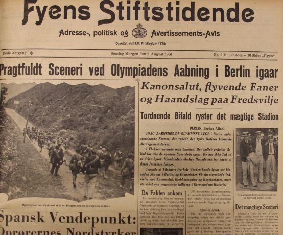 Udklip 2-8-1936