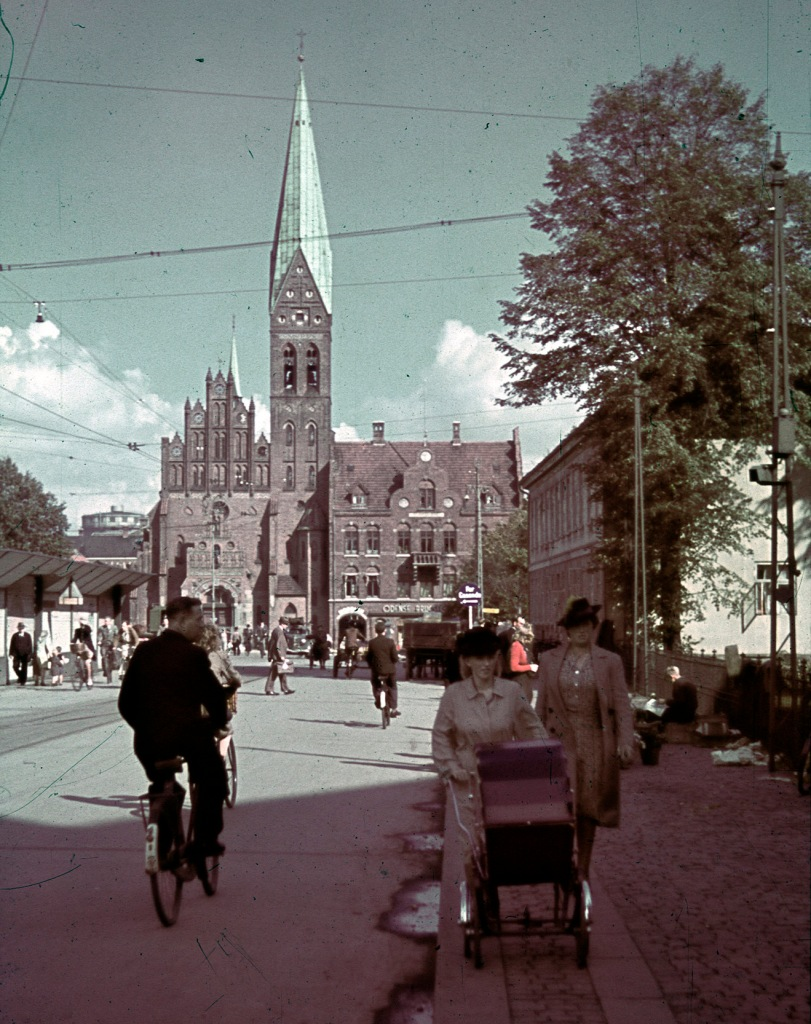 Albani Kirke ca. 1945