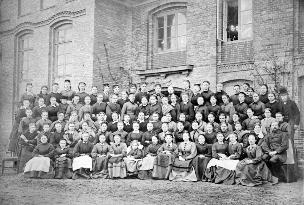 Elever fra Dalum Højskjole 1864