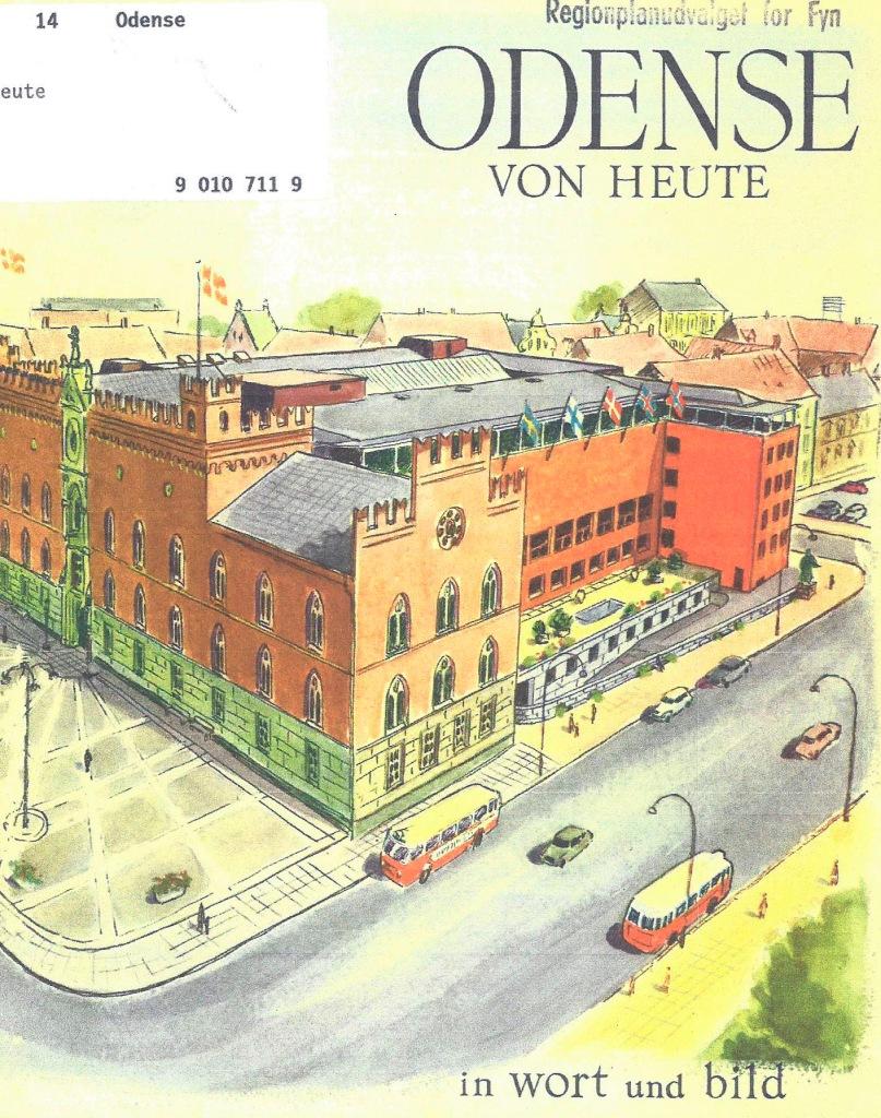 """Turistbrochure """"Odense von Heute""""."""