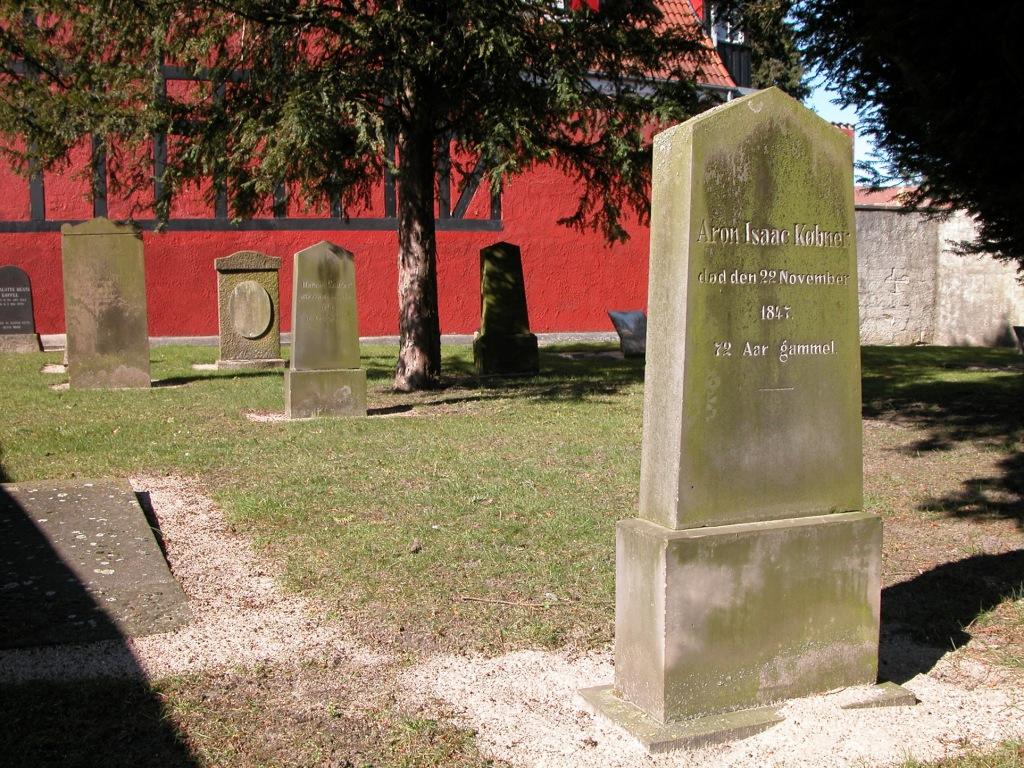 Den jødiske kirkegård ved Vandværksvej 2013