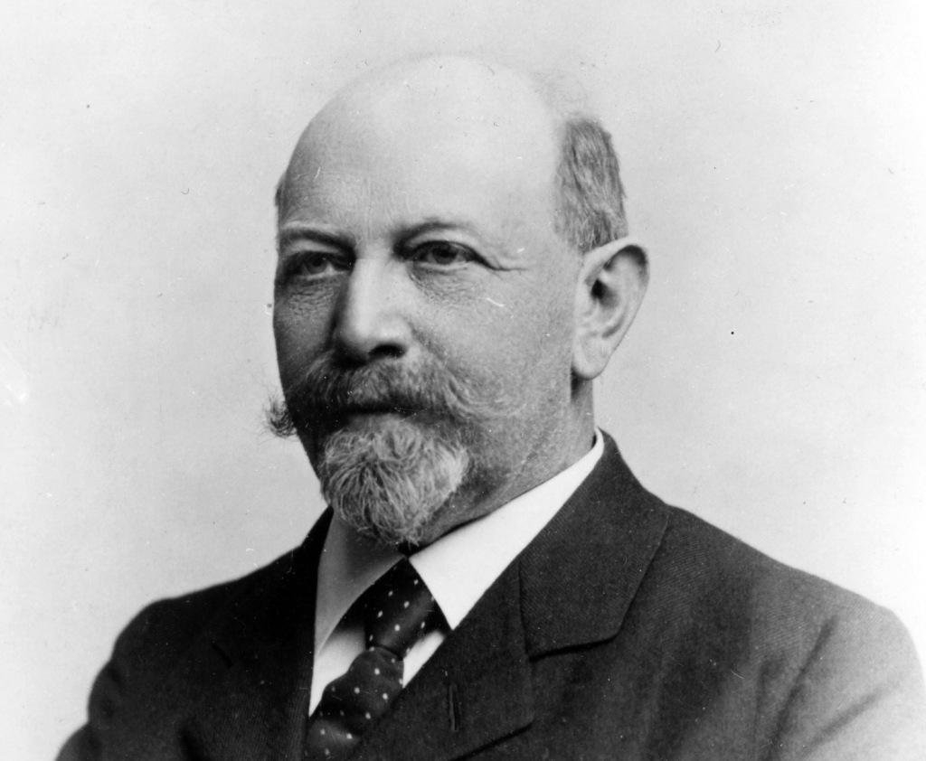 Emil Kiørboe (1847-1925) (Jul. Folkmann fot., Det Kongelige Bibliotek).