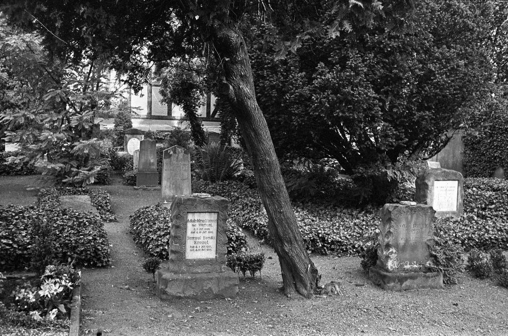 Den jødiske kirkegård ved Vandværksvej 1962