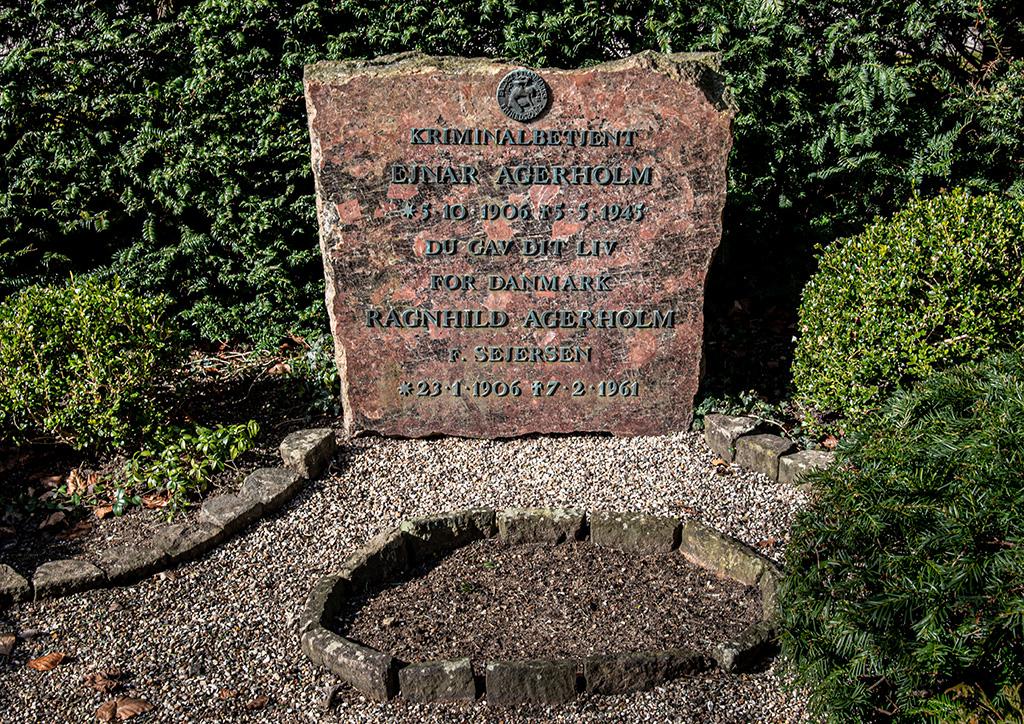 Einar Agerholms gravsten
