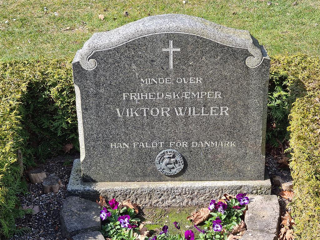 Viktor Willers gravsten