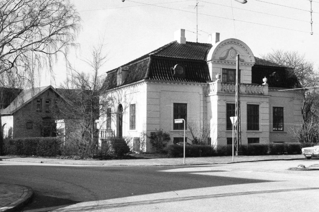 Villaen på Bülowsvej, hvor Odense Fjerbolde Fabrik hørte hjemme.